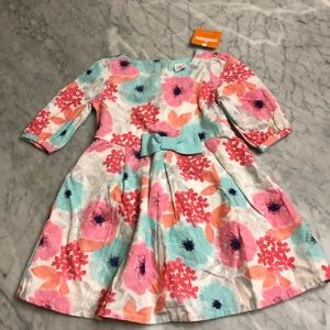 🌸 Gymboree Floral Corduroy Dress 2T